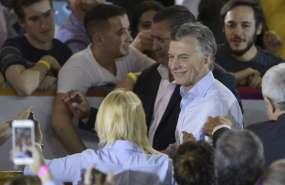 Macri perfilado para ganar legislativas argentinas de medio mandato. Foto: AFP