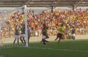 La selección colombiana le dio la vuelta al marcador que terminó 3-1. Foto: tomada de la cuenta Twitter @ECUADORoimpico