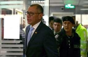 La máxima Corte de Justicia emitirá sentencia a Glas y otros procesados el miércoles 13 de diciembre. Foto: AFP