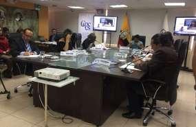 Pleno del organismo elegirá nuevo titular tras resultados de la consulta popular. Foto: Twitter Francisco Garces