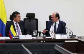 Así lo decidieron los fiscales de los respectivos países durante encuentro en Bogotá. Foto: Twitter Fiscalía