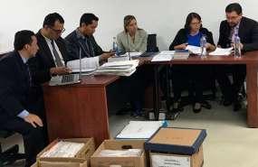 María Sol L. deberá pagar $3'600.000 como reparación económica para el IESS. Foto: Twitter Fiscalía