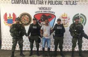 Capturan a alias 'Weiner', cabecilla de organización de 'Guacho'. Foto: Radio Caracol
