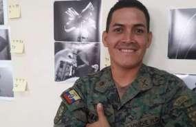 El soldado Wilson Ilaquiche lleva 14 días desaparecido.
