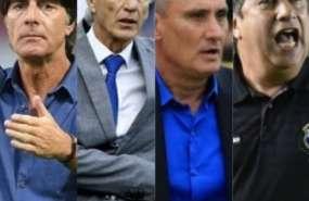 Los entrenadores de Alemania, Colombia, Brasil y Panamá y figuran en la lista.