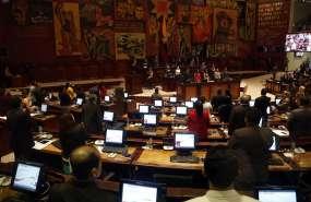 QUITO, Ecuador.- En el informe, que se revisará en segundo y definitivo debate, hubo cambios en el 40% del texto. Foto: API