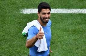 El 'pistolero' convirtió su sexto gol en mundiales. Foto: JOE KLAMAR / AFP