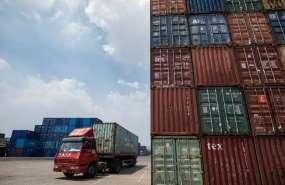 Ambas potencias se han impuesto recíprocamente aranceles aduaneros. Foto: AFP