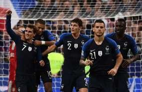 La campeona del mundo venció 2-1 a la 'Mannschaft' en París. Foto: Anne-Christine POUJOULAT / AFP