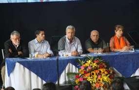 Así lo anunció el Régimen durante gabinete ministerial en Daule, provincia del Guayas. Foto: Secom