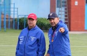 El entrenador colombiano se ratificó en sus palabras sobre la superioridad de Perú. Foto: Tomada de @FEFecuador