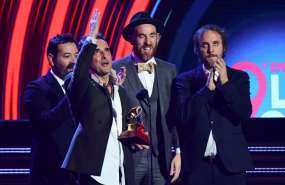 Ganadores de los premios Grammy Latino 2018. Foto: AFP