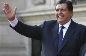 LIMA, Perú.- García no puede salir de Perú por 18 meses debido a la investigación del caso Odebrecht. Foto: AP.