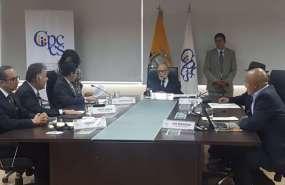 QUITO, Ecuador.- El organismo pospone la aprobación del mandato para designar al fiscal general titular. Foto: API