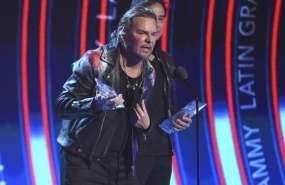 Fher Olivera en la entrega de los Latin Grammy