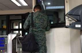 Oficiales del Ejército rinden versión en caso por tráfico de armas. Foto: Jaqueline Rodas.