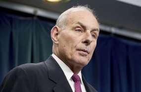 Secretario general de la Casa Blanca, John Kelly, deja su cargo. Foto: AP