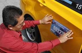 Más de 9 mil taxis autorizados para circular en Guayaquil.