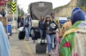 Crisis migratoria sin precedente sacudió a América en 2018. Foto: AFP
