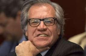Partido de gobierno en Uruguay expulsa a Luis Almagro. Foto: AP - Archivo