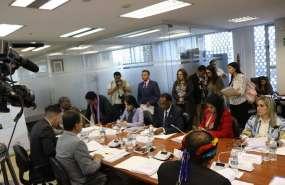 Comisión de Derechos Colectivos revisará las objeciones del Ejecutivo enviadas al Parlamento. Foto: Comisión Derechos Colectivos