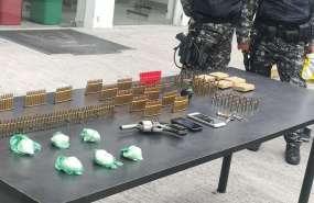 Este es el segundo caso de transporte ilegal de municiones en el mes de febrero. Foto: Captura