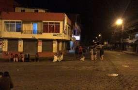 Dos heridos y daños materiales por sismos en Ecuador (MACAS). Foto: Cortesía