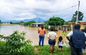 Casi 20.000 personas afectadas por el invierno en Ecuador. Foto: Secretaría de Riesgos