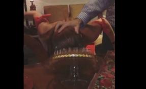 La Miss Ecuador 2013 compartió un divertido video de la celebración.