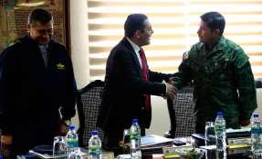 El encuentro se realizó este viernes 22 de septiembre de 2017. Foto: Ministerio de Defensa