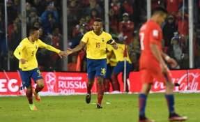 Antonio Valencia no jugó este compromiso debido a una suspensión por acumulación de tarjetas amarillas. Foto: AFP