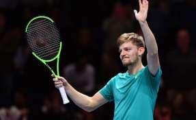 El tenista belga se enfrentará a Roger Federer por un cupo en la final. Foto: AFP