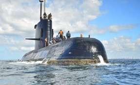 Esta foto sin fecha proporcionada por la Armada Argentina muestra al ARA San Juan, un submarino diésel-eléctrico construido en Alemania, cerca de Buenos Aires. La Marina argentina dijo el viernes 17 de noviembre de 2017 que ha perdido contacto con su submarino en la costa sur del país. Foto: AP