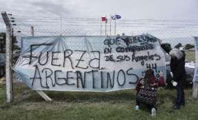 En la búsqueda se encuentran unos 4.000 efectivos, entre barcos y aviones de 13 países. Foto: AFP