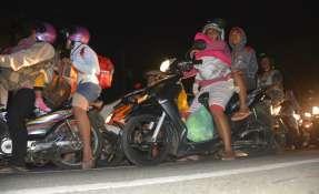 Sismo ocurrió en Java, la principal isla de Indonesia. Foto: AFP