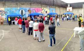 ECUADOR.- Las personas privadas de la libertad, mayores de 18 años, están habilitadas para sufragar de forma obligatoria. Foto: Archivo/Ecuavisa.