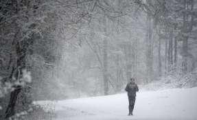 ATLANTA, Estados Unidos. Esta nueva ola de frío sorprende a muchos estados del este de norteamérica. Foto. AP