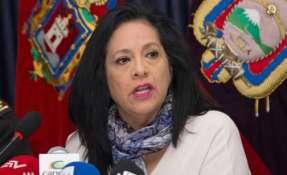 "La fiscal Thania Moreno dijo que ""no hay ninguna pugna, no hay ningún interés"". Foto: Twitter"