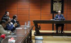 Según la Fiscalía, el exministro recibió USD 1 millón por el proyecto Toachi Pilatón. Foto: Fiscalía