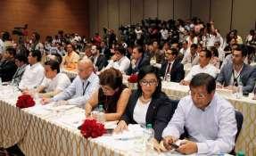 Son 30 empresas las que participan en presentación de plan de negocios. Foto: Hidrocarburos