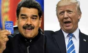 El presidente de Venezuela, en agosto del año pasado también solicitó una conversación con Trump, a lo que Wahington se negó. Foto: archivo