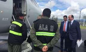 ECUADOR.- Entre otros temas, revisarán las investigaciones sobre el atentado en San Lorenzo. Foto: Fiscalía