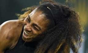 La tenista juega su primer torneo tras dar a luz a su primera hija. Foto: AFP