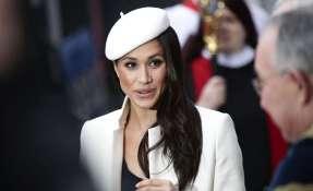 La exactriz asistió a una ceremonia religiosa en la abadía de Westminster. Foto: AP.