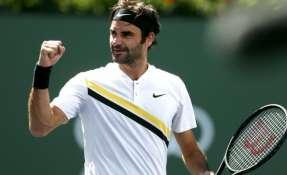 El suizo Roger Federer jugará una nueva final en torneos Masters 1000, esta vez, en Indian Wells.