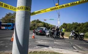 Un quinto paquete explotó en la madrugada del martes en una oficina de FedEx. Foto: AFP