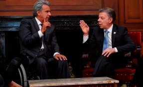 Mandatario colombiano pidió convocar a Comisión Binacional Fronteriza. Foto: Archivo AFP