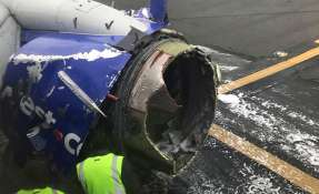 """Elogian los """"nervios de acero"""" de la piloto de Southwest. Foto: AP"""