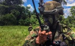 La crítica situación de inseguridad en la frontera norte motivó múltiples operativos. Foto: AFP