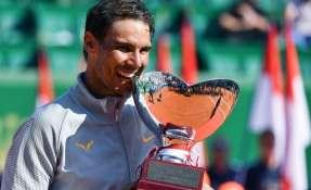 El español venció en la final al japonés Kei Nishikori en dos sets. Foto: YANN COATSALIOU / AFP